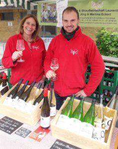 Weinstand in Mainz-Mombach