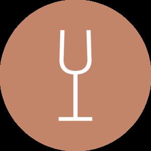 Logo Weingut Laurentiushof, Weinglas, Modern, Zeitgenössisch, Traditionell, Mainz-Ebersheim, Jörg & Martina Eckert
